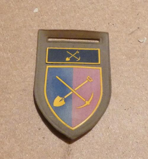North west commando provost unit shoulder flash