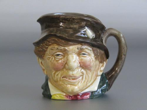 Original vintage royal doulton character jug paddy d6042 in