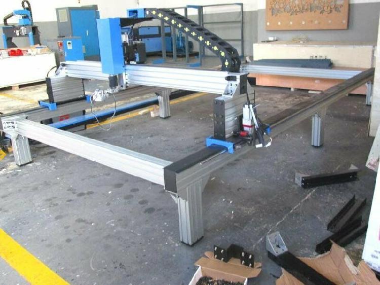 P-1325vm metalwise standard cnc plasma cutting table