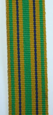 Sap star for faithful service miniature ribbon