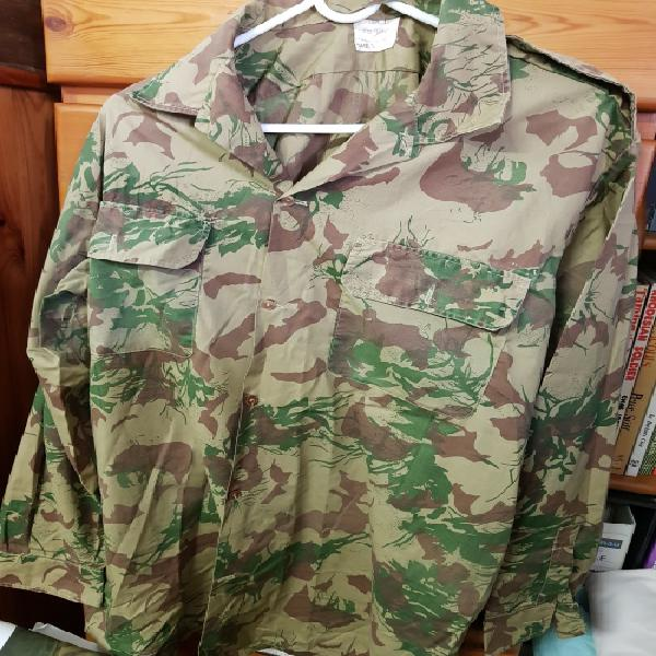 South african police camo shirt long sleeved light weight