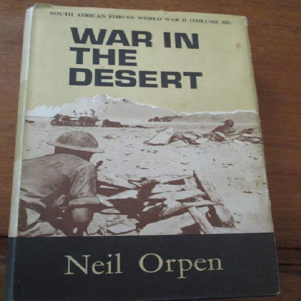 War in the desert. south african forces world war ii (vol