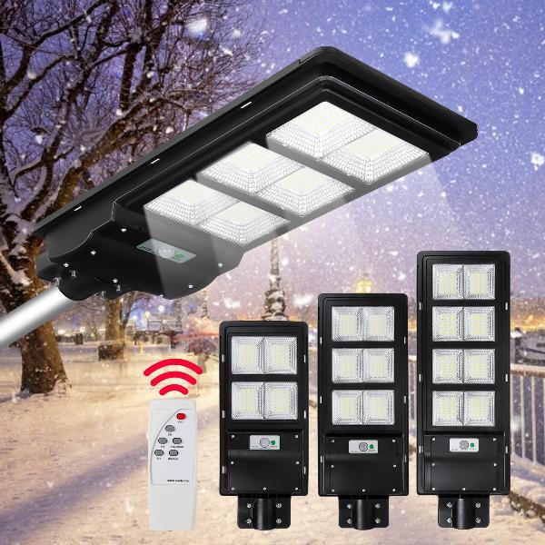 300/600/900w led solar street light motion sensor outdoor