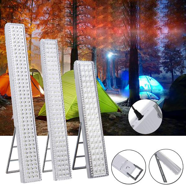 Portable led camping lantern tent light work rechargeable