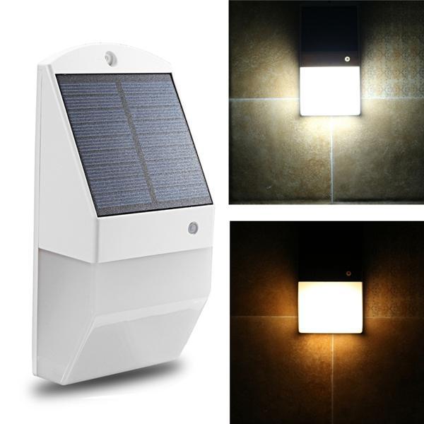 Solar power 25 led pir motion sensor wall light waterproof