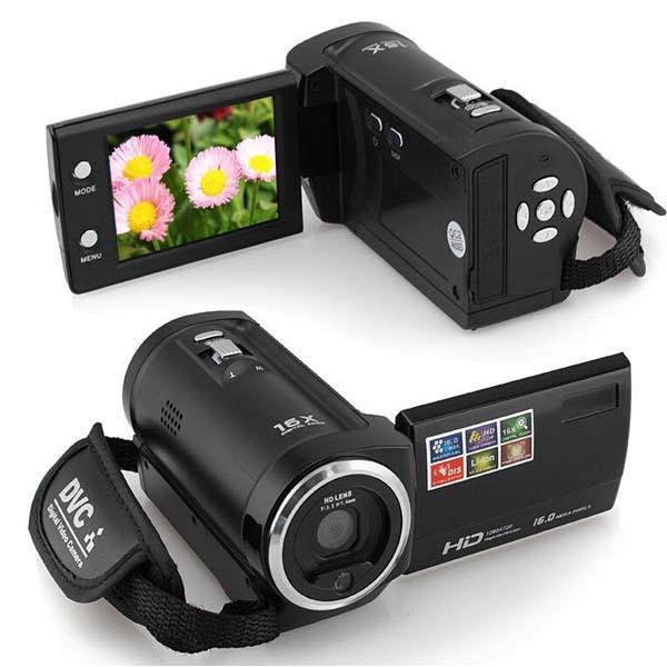 16 mp max 720p hd 16 x digital zoom digital video camera