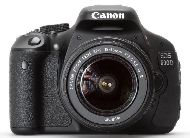 Canon eos 600d dslr camera with canon 18-55 lens camera kit