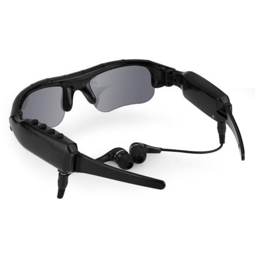 Eyewear sunglasses camera support tf card music video