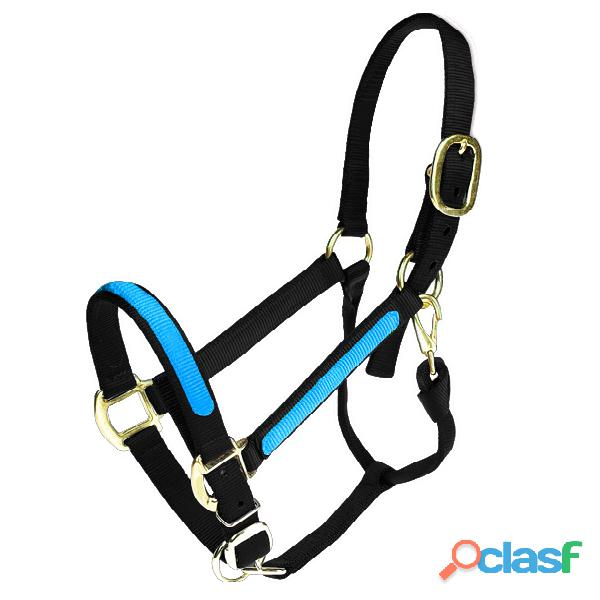 Custom Adjustable Overlay Nylon halter