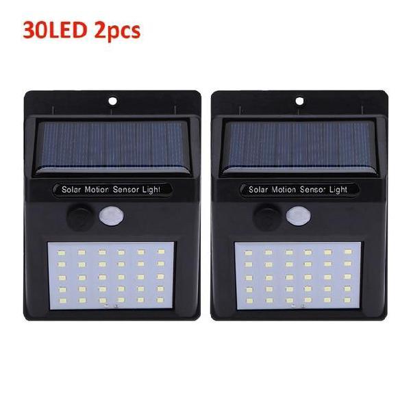 1-4pcs led solar light motion sensor outdoor garden light