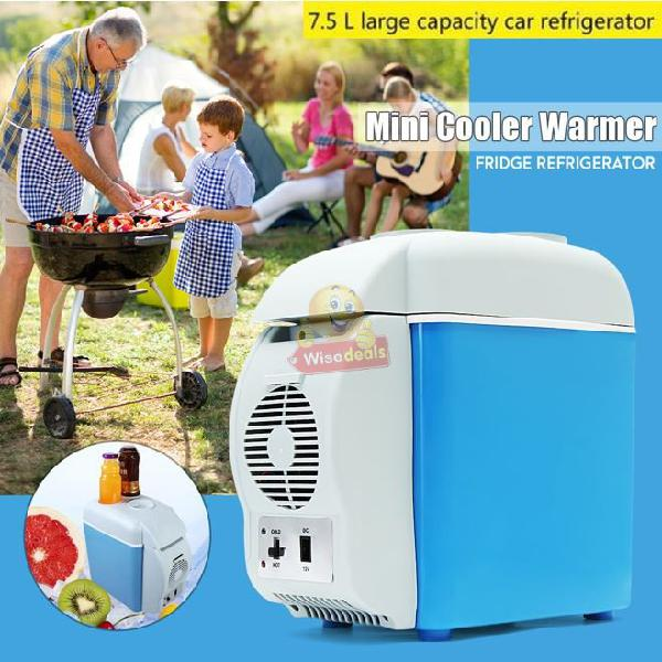 7.5l 12v cool & warm car freezer, ideal for road trips,