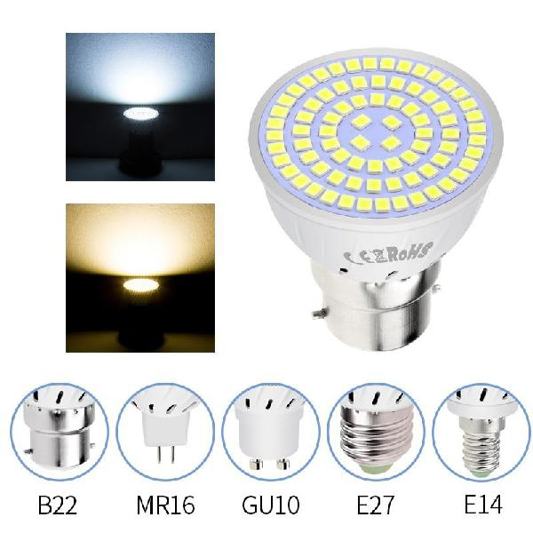 Led gu10 spotlight bulb corn lamp mr16 spot light... - white