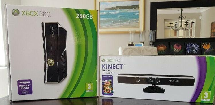 Xbox 360, xbox kinetic and two games