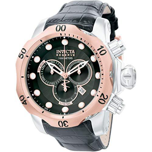 Invicta mens 0360 reserve collection venom chronograph black
