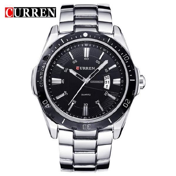 New curren watches men top brand fashion watch quartz watch