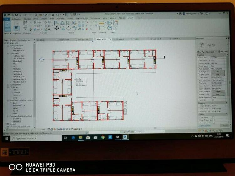 Tender document pricing and preparation house plans working