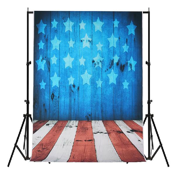 5x7ft vinyl blue star wall photography backdrop background