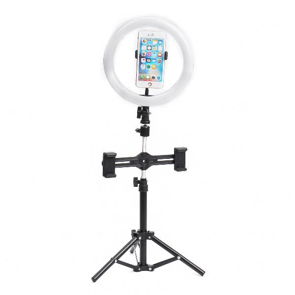 8 inch video photography live streaming ring light with 50cm