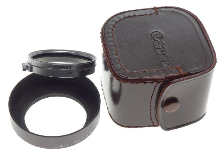Canon lens hood shade 42mm old school classic vintage 35mm