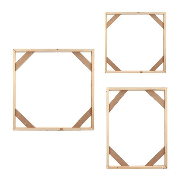 Wood frame stretcher bars stretching strips for canvas print