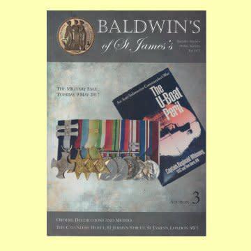 Book - baldwins of st james medal auction cataloque.