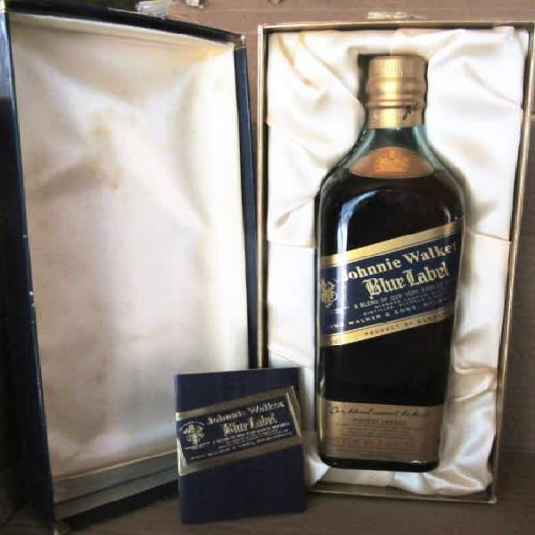 Johnnie walker blue label in presentation box 750ml 43%