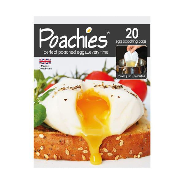Poachies non-stick egg poaching bags, pack of 20