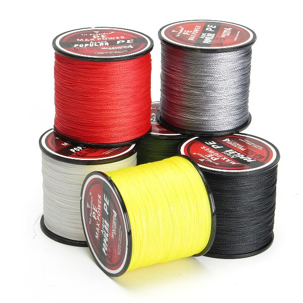 300m super strong 4 strands pe spectra braided wire fish