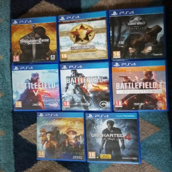 Ps4, ps3 and ps vita games for sale