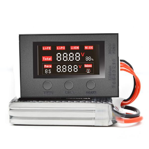 Hotrc bx200 voltage tester low voltage buzzer alarm battery