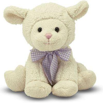Melissa & doug soft toys - meadow medley lamby stuffed