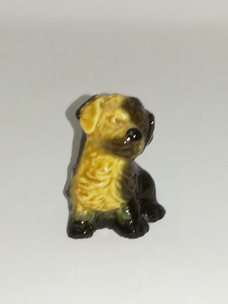 Miniature ceramic dog (for printers tray/dollhouse)