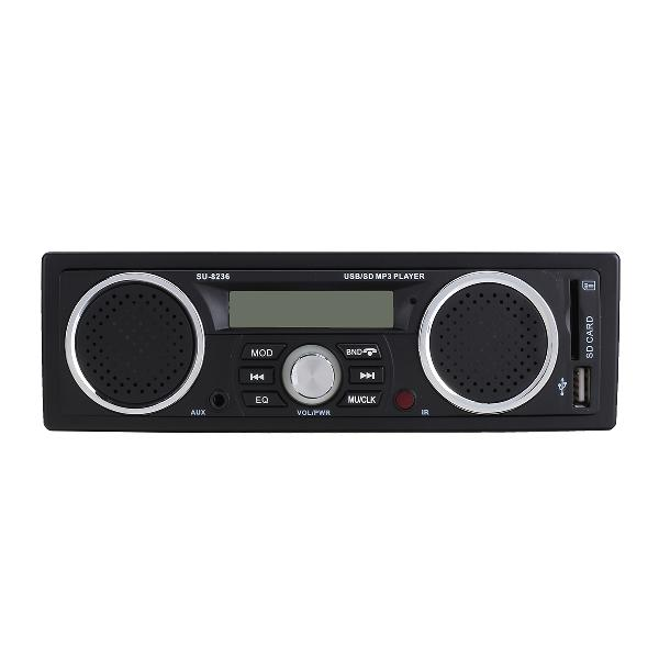 Car wireless fm hifi 6.1 sound channel bluetooth hands-free