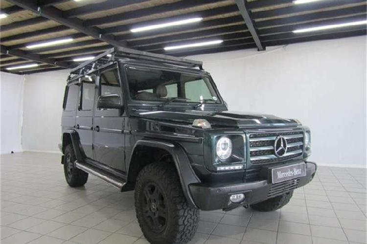 Mercedes benz g class g350 bluetec 2013