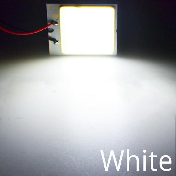 Promotion white t10 24/36/48 smd cob led panel car auto