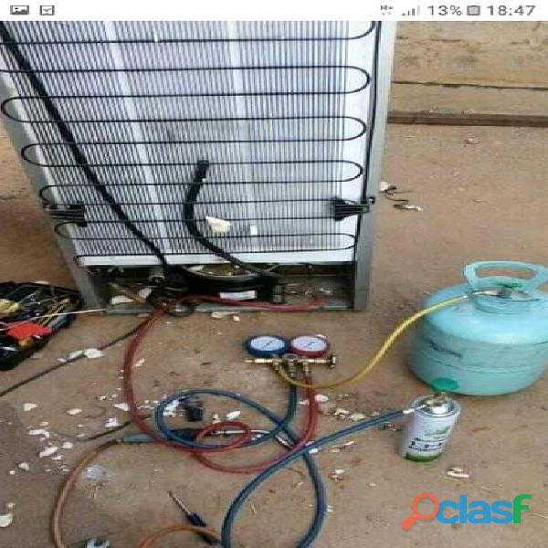 Fridge Regassing and repair