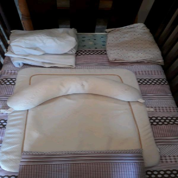 Cot and mattress all accessories