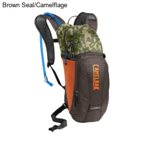 Camelbak mule 3l hydration pack - brown-seal-camouflage