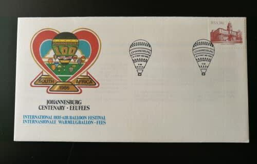 Johannesburg centenary - eufees international hot air