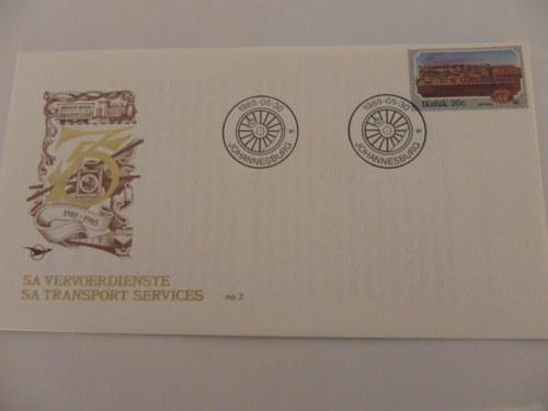 Rsa (1985) - sa transport services #2 illustrated fdc