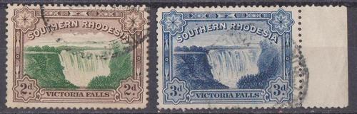 Rhodesia south 1935/41 - complete set of 2 cvr125.00