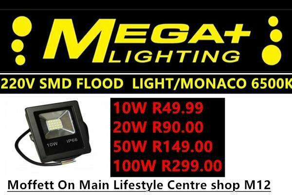 Led flood lights 10w 20w 30w 50w r ip65 outdoor floodlights