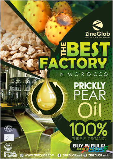 ZineGlob Producer, Wholesaler And Exporter Of Prickly Pear Oil
