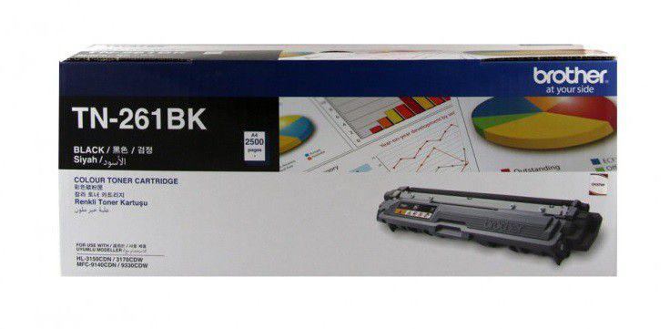 Brother TN-261BK Black Laser Toner Cartridge