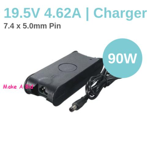 Replacement dell laptop charger 90w (big pin 7.4*5.0)