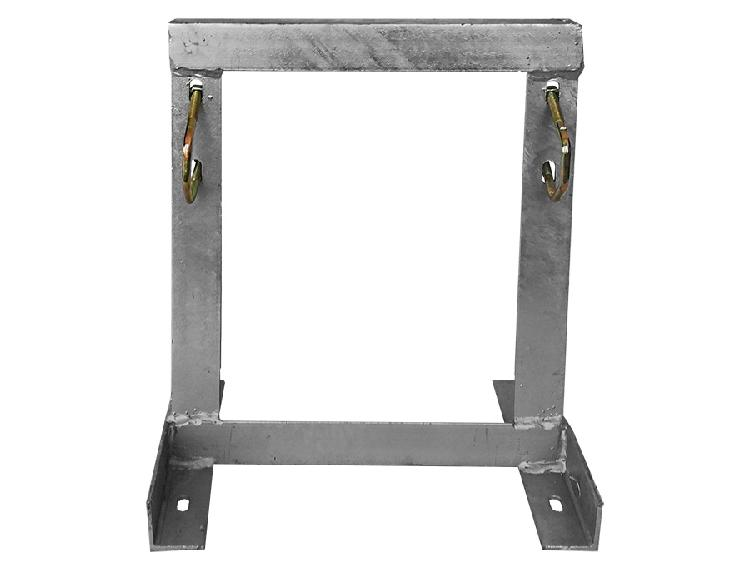 Square Bracket Wallmount 25cm - 12 Month Carry-In