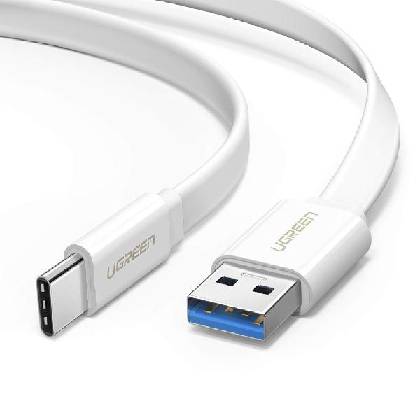 UGREEN 0.5M USB2.0 M TO USBC FLAT CABLE - 12 Month Carry-In