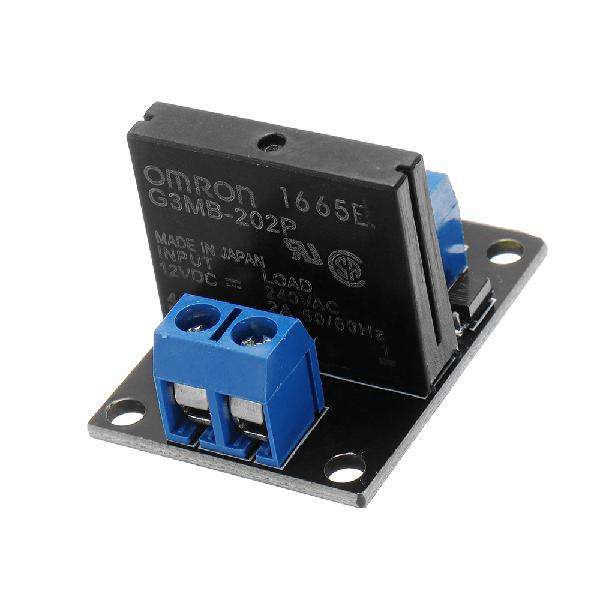 3pcs 1 channel 12v relay module solid state low level