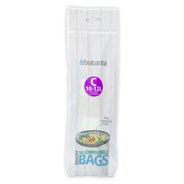Brabantia compostable bin liners, pack of 10