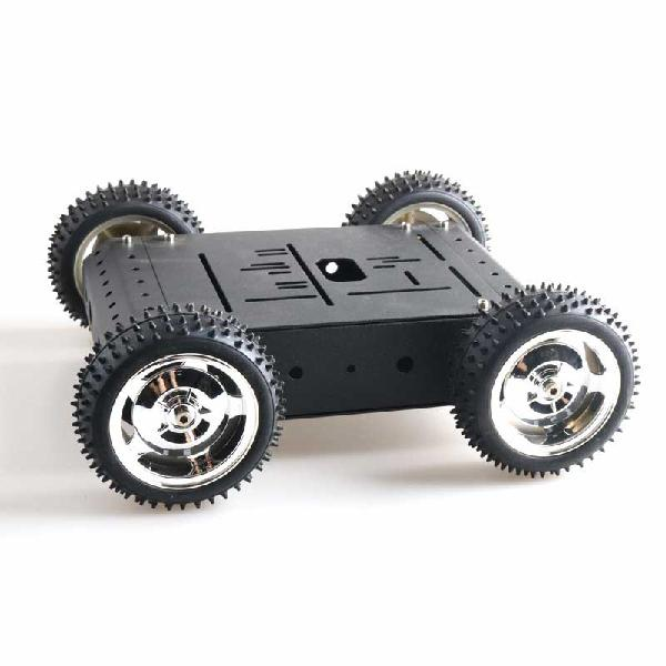 C3 4wd 4pcs 85mm wheels smart robot car kit with 12v 25